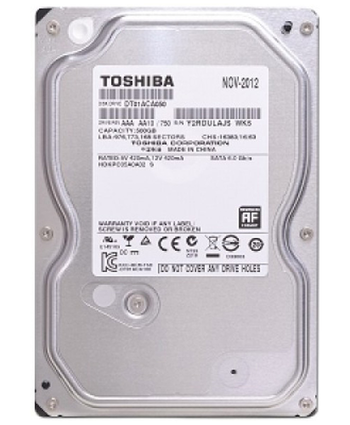 Ổ cứng Toshiba 500GB 3.5 inch