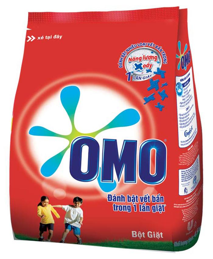 Xà bông bột Omo 400g