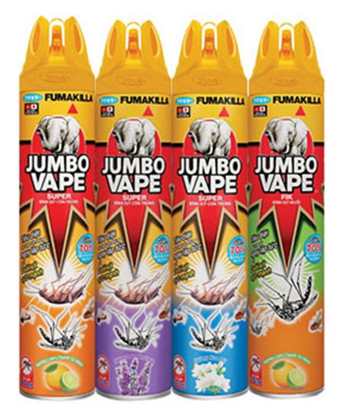 Chai xịt côn trùng Jumbo