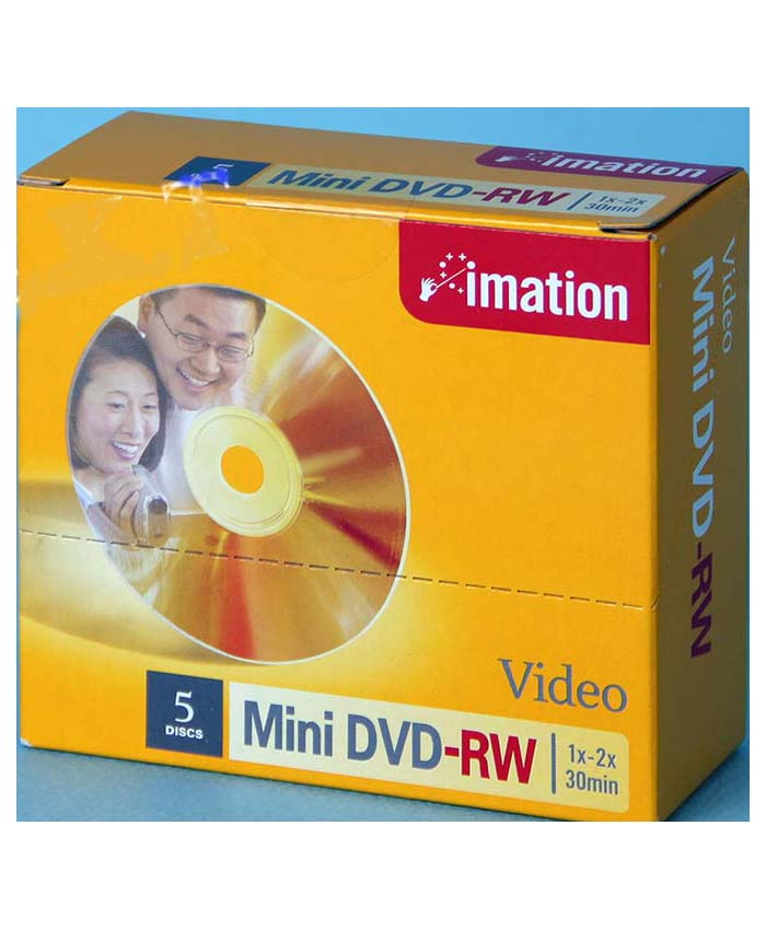 Đĩa DVD-RW  mini Imation
